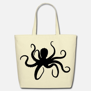 Octopus Octopus - Eco-Friendly Cotton Tote