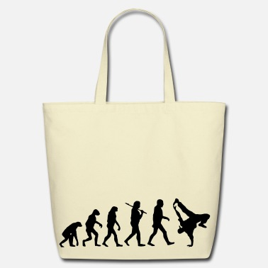 Hip Hip Hop Evolution - Eco-Friendly Cotton Tote
