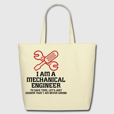 Engineer I Am A Mechanical Engineer 1 (2c)++ - Eco-Friendly Cotton Tote