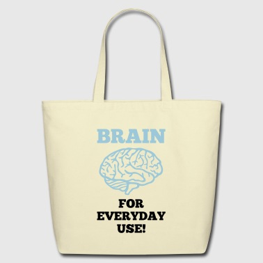 Brain - For everday use! - Eco-Friendly Cotton Tote