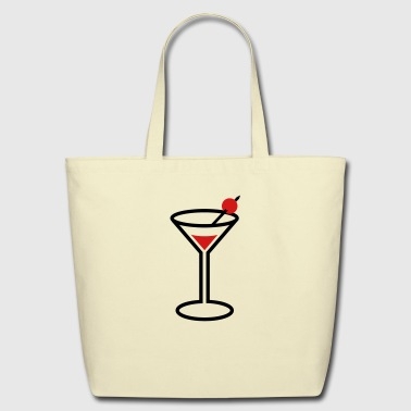 Martini Glas (2c) - Eco-Friendly Cotton Tote