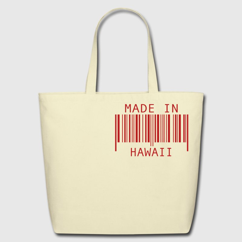 Made in Hawaii - Eco-Friendly Cotton Tote