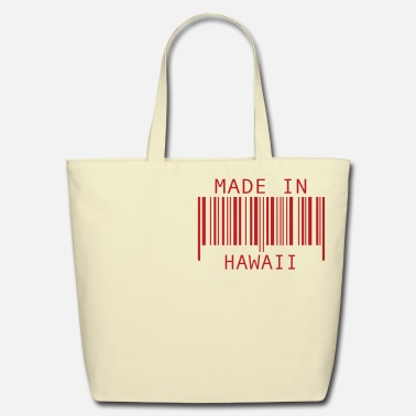 Hawaii Made in Hawaii - Eco-Friendly Cotton Tote