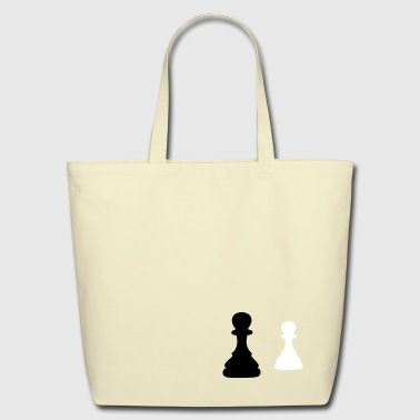 chess pawn - Eco-Friendly Cotton Tote