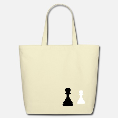 Chess chess pawn - Eco-Friendly Cotton Tote