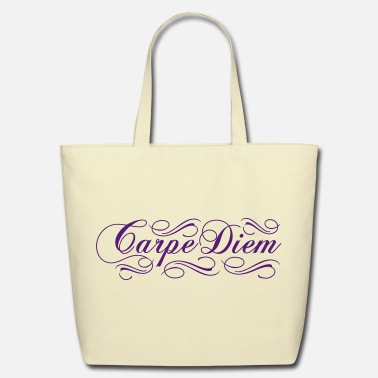 Carpe Diem Carpe Diem - Eco-Friendly Cotton Tote