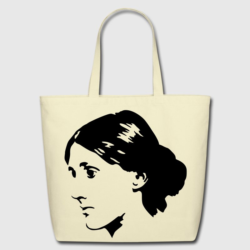 Virginia Woolf - Eco-Friendly Cotton Tote