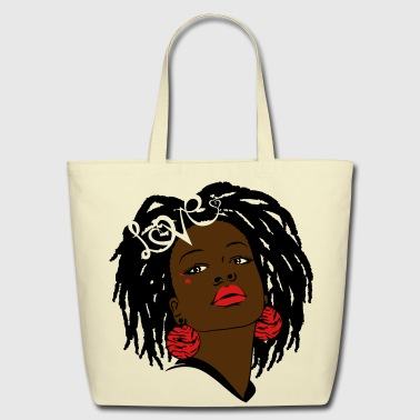 American SunShine's Locks of Love - Eco-Friendly Cotton Tote