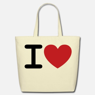 I Heart I *heart* - Eco-Friendly Cotton Tote
