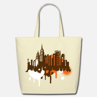Graffiti New York Graffiti - Eco-Friendly Cotton Tote