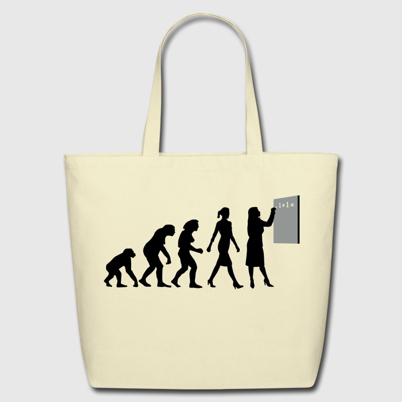 evolution_lehrerin_032013_a_2c - Eco-Friendly Cotton Tote