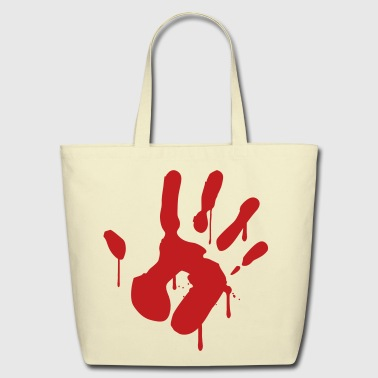 Bloody Hand - Eco-Friendly Cotton Tote