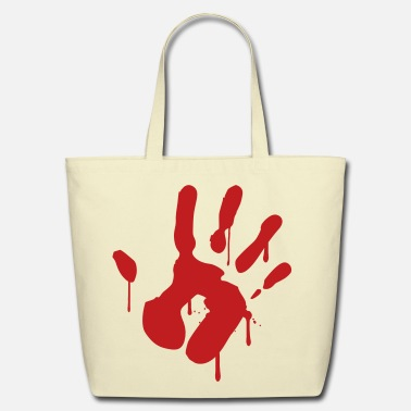 Bloody Bloody Hand - Eco-Friendly Cotton Tote