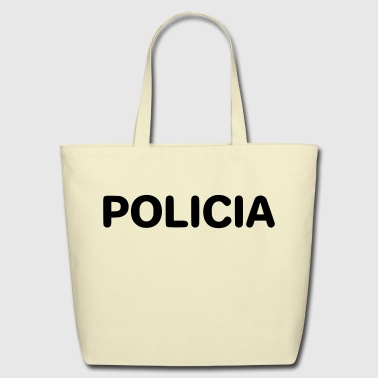 POLICIA je - Eco-Friendly Cotton Tote