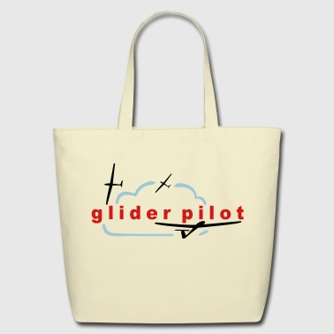 glider pilot - Eco-Friendly Cotton Tote