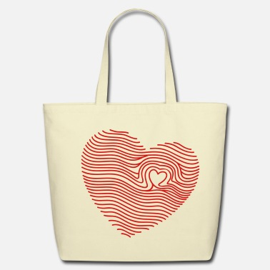Touched My Heart - Eco-Friendly Tote Bag
