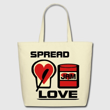 Spread Love - Eco-Friendly Cotton Tote