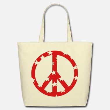 Peace Sign peace sign - Eco-Friendly Cotton Tote