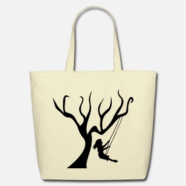 Swinging Swing - Eco-Friendly Tote Bag