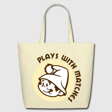 Plays With Matches - Eco-Friendly Cotton Tote