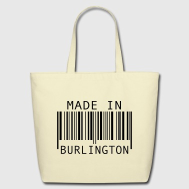 Made in Burlington - Eco-Friendly Cotton Tote