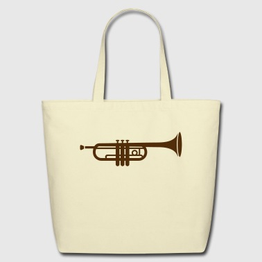 Trumpets A trumpet  - Eco-Friendly Cotton Tote
