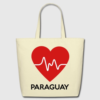 Heart Paraguay - Eco-Friendly Cotton Tote
