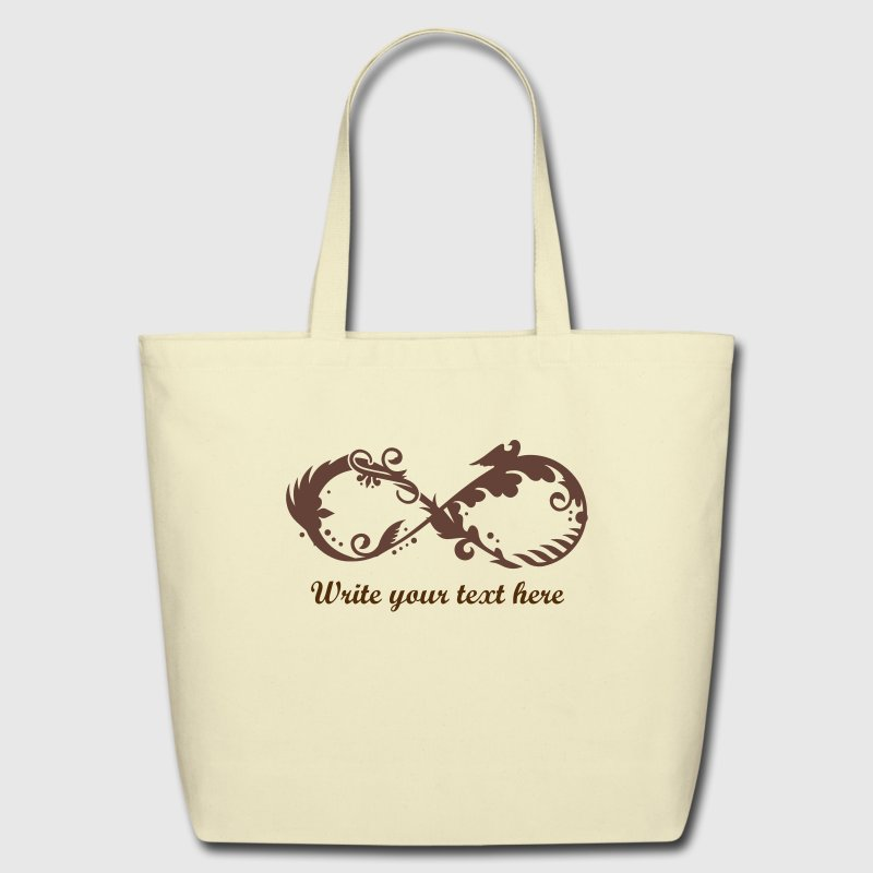A symbol of infinity - Eco-Friendly Cotton Tote