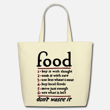 Food Food  - Eco-Friendly Cotton Tote