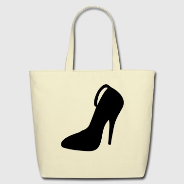 Highheels Vector highheels Silhouette - Eco-Friendly Cotton Tote