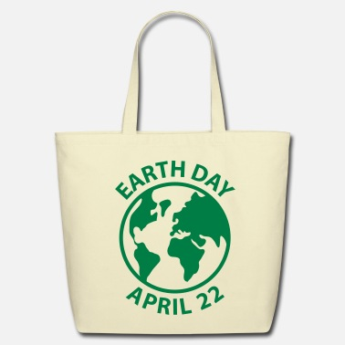 Day Earth Day - Eco-Friendly Cotton Tote