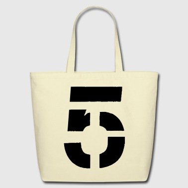 FIVE - Eco-Friendly Cotton Tote