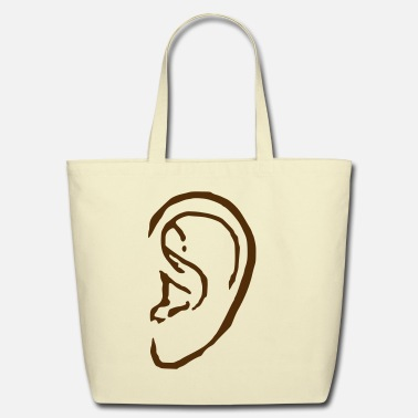 Earring Ear Eco Friendly Cotton Tote
