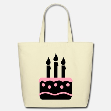Cake cake - Eco-Friendly Cotton Tote