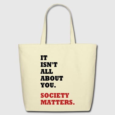 Society Matters. - Eco-Friendly Cotton Tote