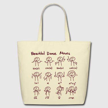 Maths_mathematics_beautiful_dance_moves - Eco-Friendly Cotton Tote