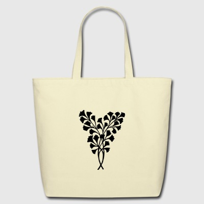 Leaves Decoration - Eco-Friendly Cotton Tote