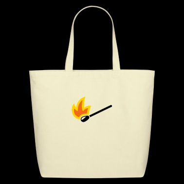 Match Matchstick - Eco-Friendly Cotton Tote