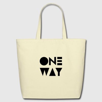 One way - Eco-Friendly Cotton Tote