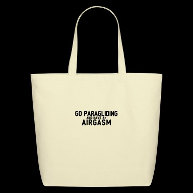 airgasm paragliding - Eco-Friendly Cotton Tote