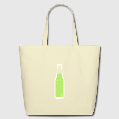 A Beer Bottle. Lets Get Drunk! - Eco-Friendly Cotton Tote