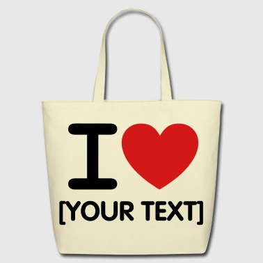 I *heart* - Eco-Friendly Cotton Tote