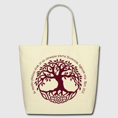 TREE OF LIFE - Eco-Friendly Cotton Tote