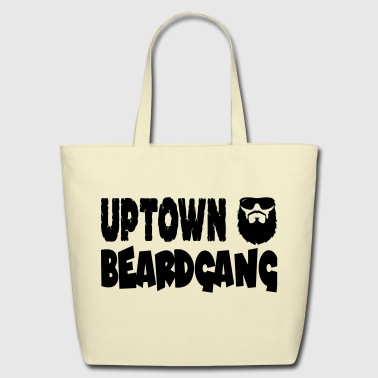 Uptown Beardgang - Eco-Friendly Cotton Tote