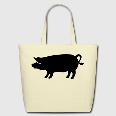 Pig - Piggy - Eco-Friendly Cotton Tote
