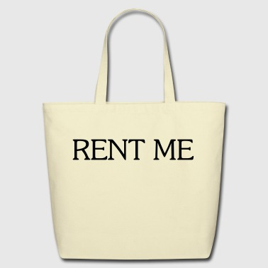QTees - RENT ME - Eco-Friendly Cotton Tote