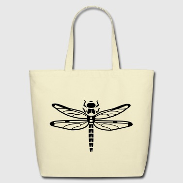 Dragonfly - Eco-Friendly Cotton Tote