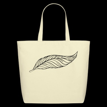Pen / Feather / Gift / Present - Eco-Friendly Cotton Tote