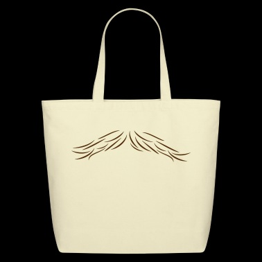 moustache - Eco-Friendly Cotton Tote