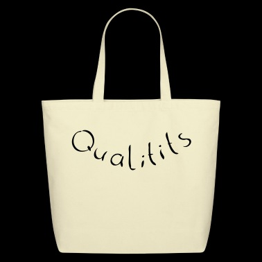 Qualitits - Pun - Eco-Friendly Cotton Tote